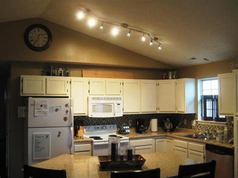 ceiling track lights for kitchen wonderful kitchen track lighting ideas midcityeast