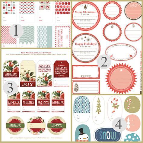 gift labels print free free printable gift tags printables