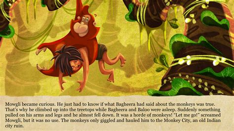 jungle book story with pictures the jungle book android apps on play