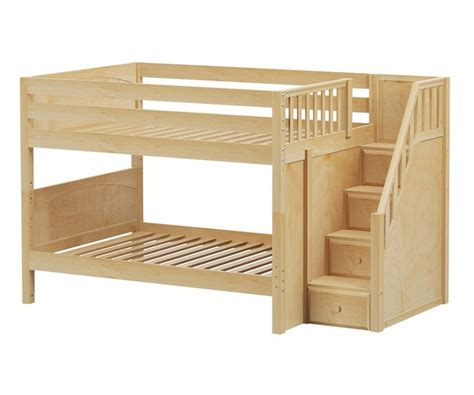 low bunk beds with stairs maxtrix dapper low bunk bed with stairs bed frames