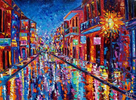 cool painting images a cool on bourbon by elaine adel cummins