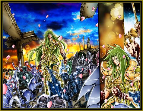 lost canvas seiya gallery lost canvas aries shion colored