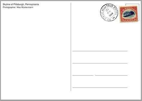 how to make post cards how can i make a postcard template tex