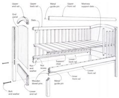 baby crib plans woodworking free how to build baby bed plans woodworking plans woodworking