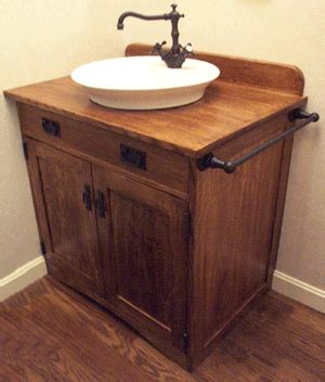Old American Standard Faucets by Nhwoodworking Mission Styled Bathroom Vanity