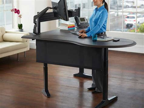 standing office desk furniture standing desks los angeles office furniture crest