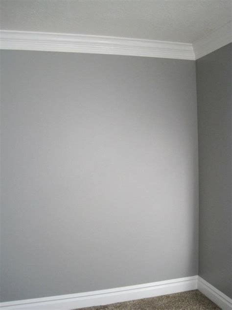 grey wall paint grey walls white moldings new colors for the dining