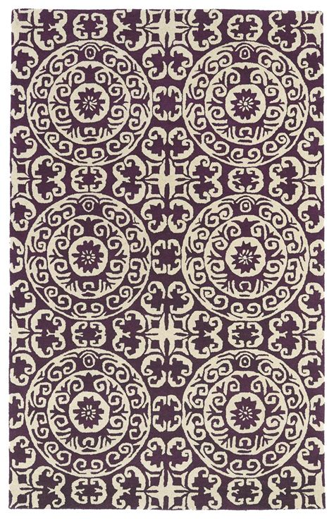 evolution area rugs kaleen evolution purple evl03 95 area rug free shipping