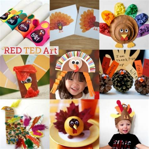 thanksgiving craft kits for 20 turkey crafts for thanksgiving ted s