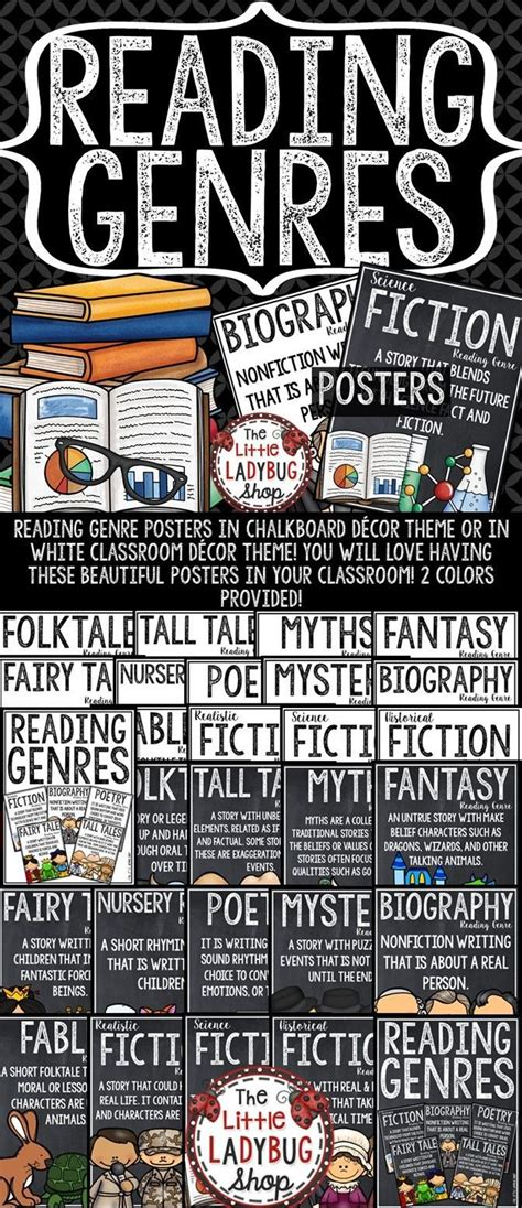 read genre best 25 reading posters ideas on reading