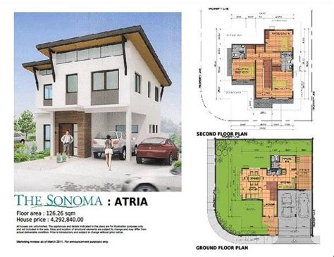 house design for 150 sq meter lot the sonoma at sta rosa city laguna august 2011