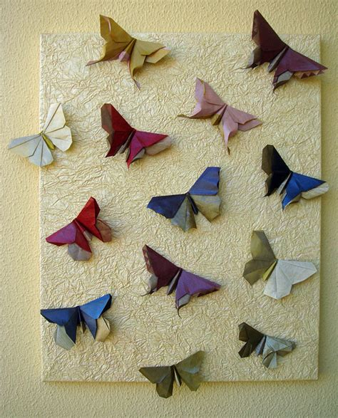 paper butterflies origami origami maniacs beautiful origami butterfly by michael