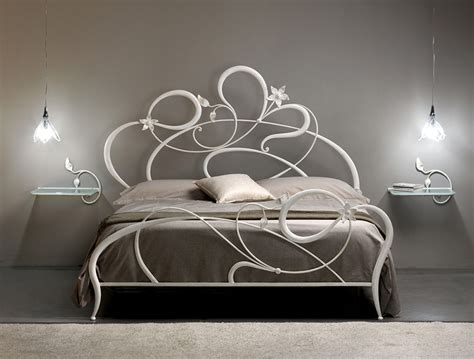 iron rod bed frame wrought iron bed frames quecasita