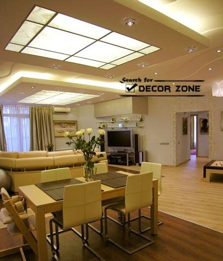 dining room ceiling designs 25 original false ceiling designs with integrated lighting