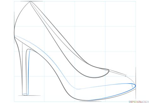 how to draw shoes shoes drawing gallery