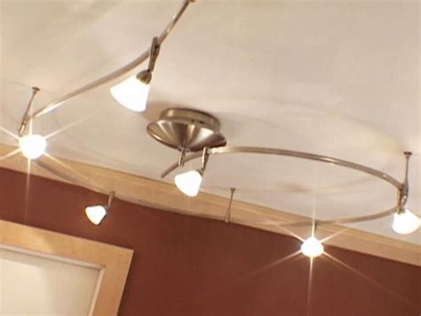 track light fixtures for kitchen install track lights for instant flair hgtv
