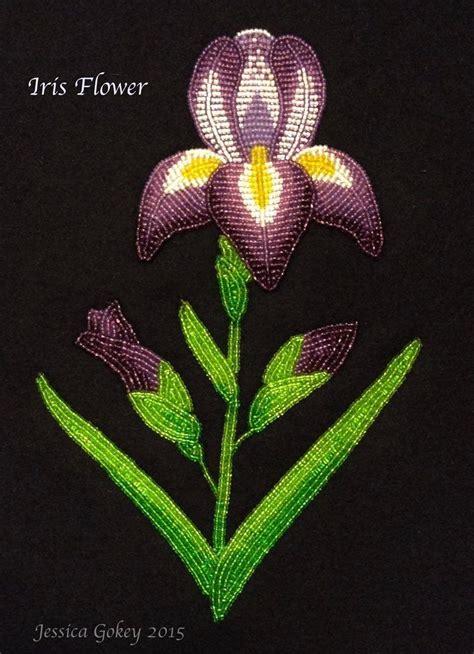 beadwork floral floral beadwork by gokey ojibwe beadwork
