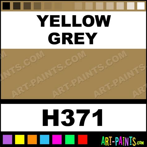 paint colors yellow and grey yellow grey artist paints h371 yellow grey paint