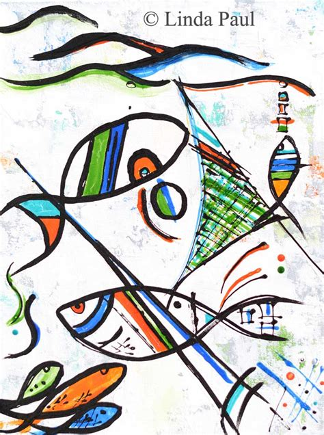 picasso paintings fish fishing with picasso abstract modern fish painting