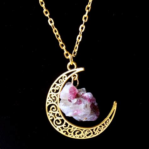 jewelry and stones 2015 sailor moon necklace sun and moon jewelry 60cm gold