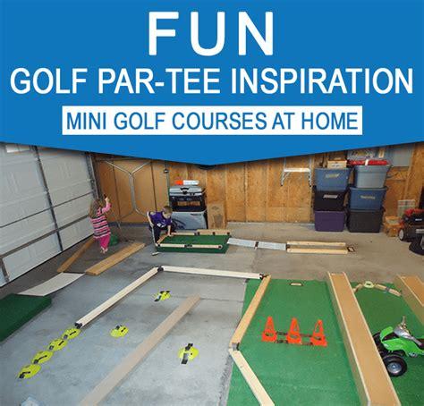 backyard mini golf diy backyard mini golf course