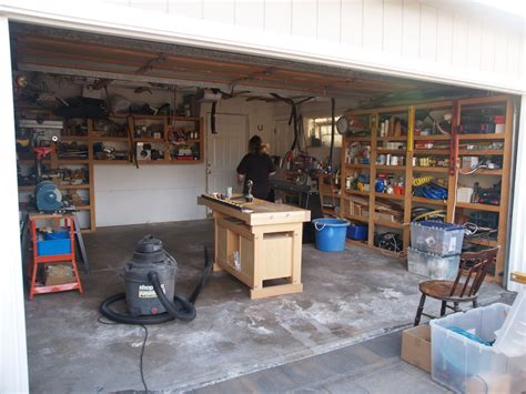 how to set up a woodworking shop in the garage setting up small woodworking shop plans free