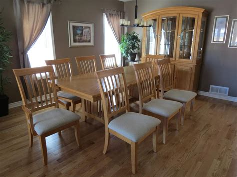 dining room set with hutch solid oak dining room set with hutch and buffet orleans
