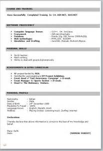 resume format samples word download resume format amp write the best resume