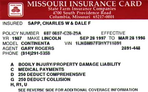 how to make a auto insurance card car insurance card proof of being insured