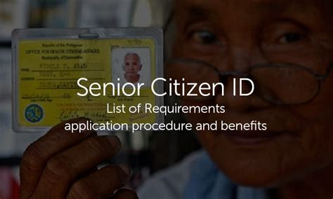 how to make senior citizen card where to get senior citizen card procedure senior