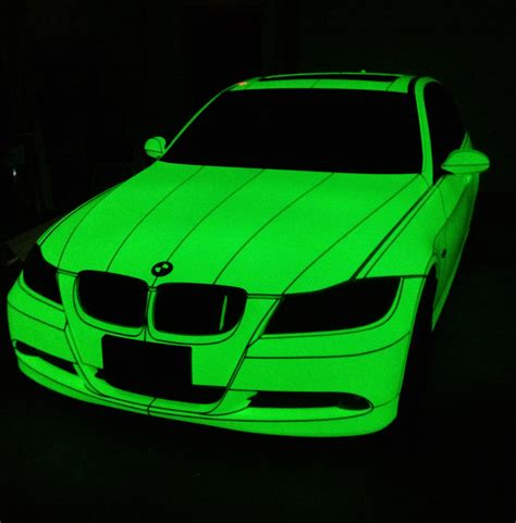 glow in the paint illegal on cars bmw sekanskin luminescent