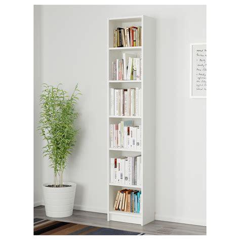ikea white bookshelves billy bookcase white 40x28x202 cm ikea