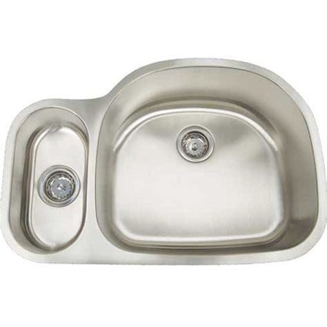artisan kitchen sinks artisan sinks 16 ar3121 d9 5 reversed bowl