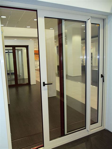 white interior door with glass white sliding aluminum door with a large glass for the
