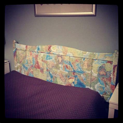 decoupage furniture with maps world map decoupage headboard furniture