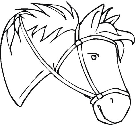 free coloring pages horses
