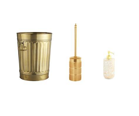 gold bathroom accessories sets 20 gold bathroom accessories gold colored bath decor ideas