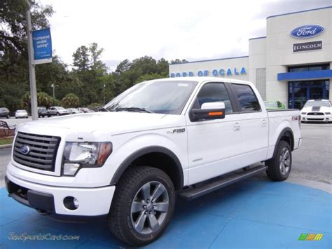 2012 Ford F150 Fx4 by 2012 Ford F150 Fx4 Supercrew 4x4 In Oxford White E03239