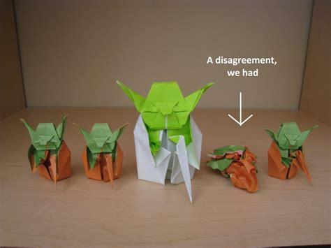 how to fold the real origami yoda origami yoda beginnings by acexpression on deviantart