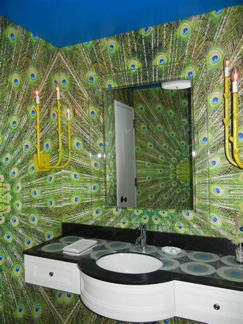 peacock bathroom ideas magnificent peacock feather wreath decorating ideas