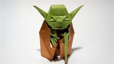 Origami Jedi Master Yoda Fumiaki Kawahata