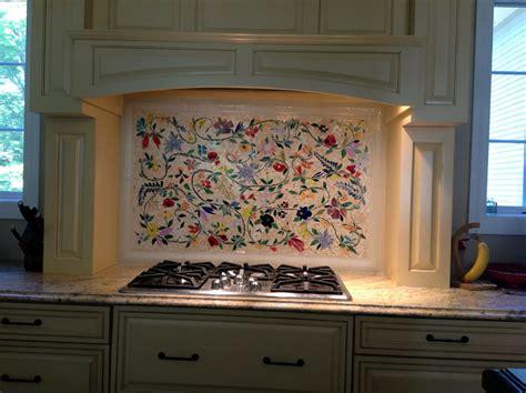 kitchen tile murals tile backsplashes glass mosaic floral mural designer glass mosaics