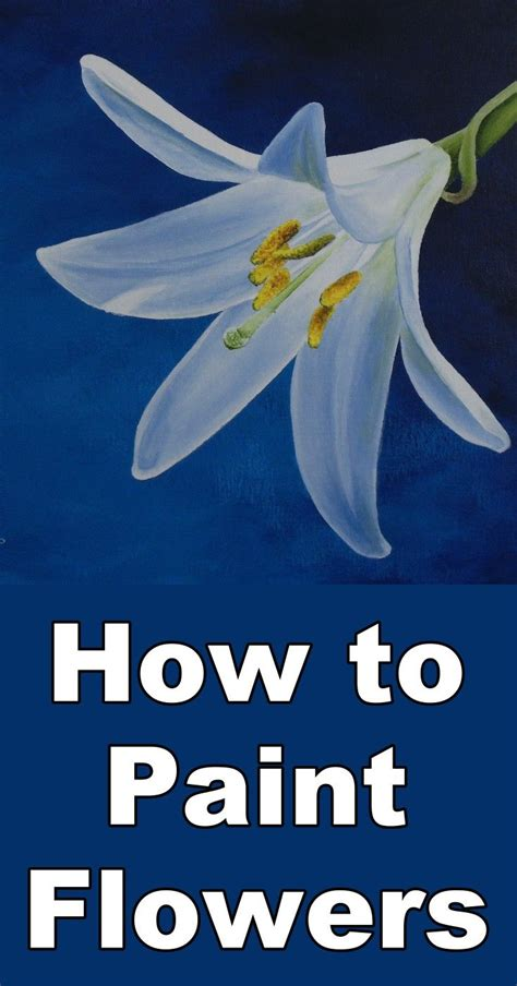 learn to paint acrylic on canvas 25 best ideas about acrylic painting flowers on