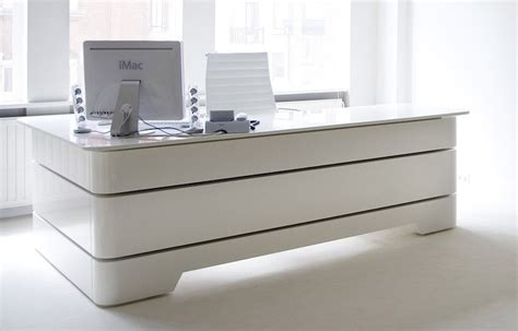 modern white desks executive desk rknl20