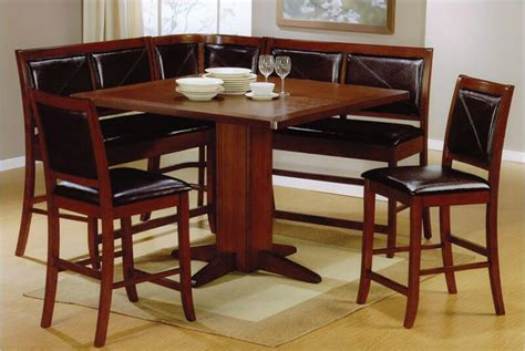 kitchen tables and benches dining sets 21 space saving corner breakfast nook furniture sets booths