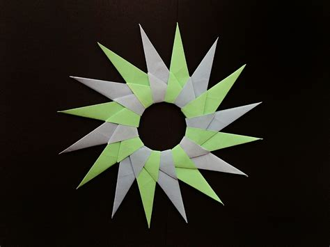 16 pointed origami origami clipart etc 16 point origami 16