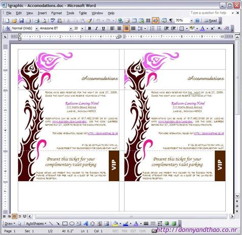 how to make a invitation card on microsoft word diy enclosure card 171 adorkable duo wedding