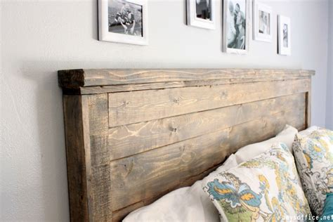 make wood headboard diy wood headboard home design