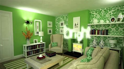 green interior design colour schemes decorating with green