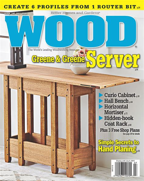 woodworking publications wood magazine subscriptions renewals gifts